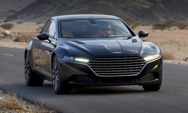 Опубликованы первые официальные фотографии седана Lagonda