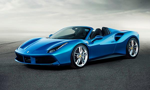 Ferrari представила свой самый мощный спорткар с открытым верхом