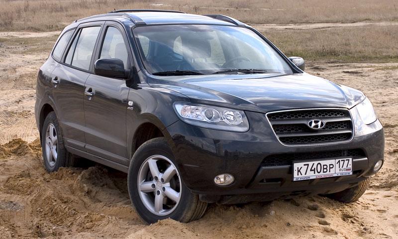 Тест-драйв -  Новый Hyundai Santa Fe против Kia Sorento
