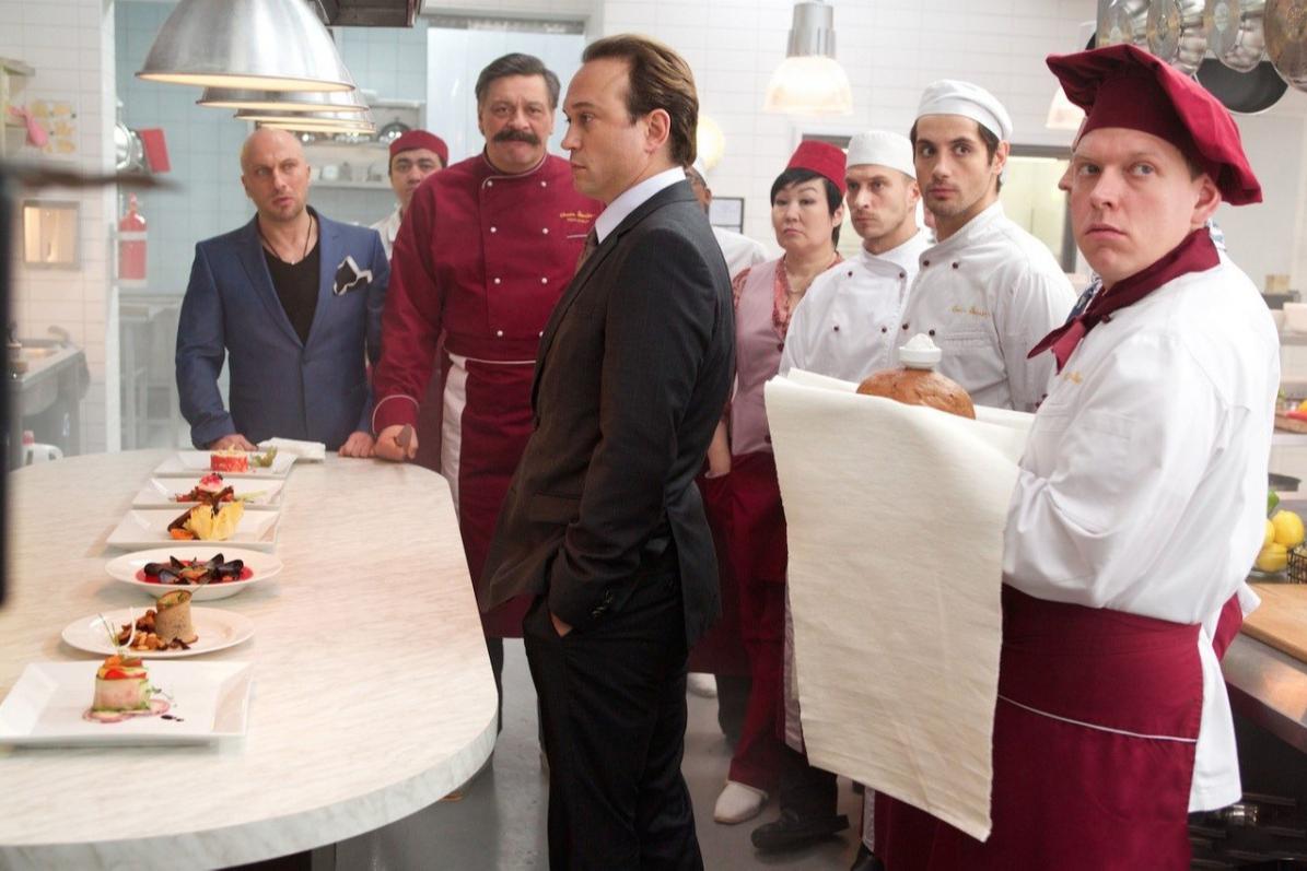 Кадр из фильма«Кухня в Париже»