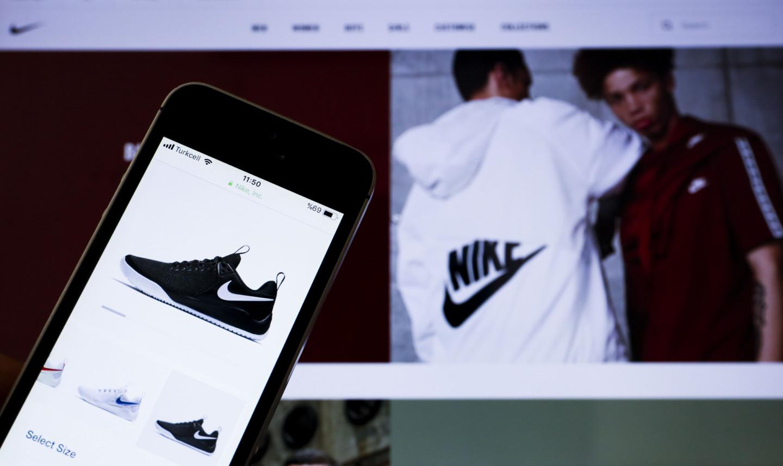 Сайт и приложение Nike