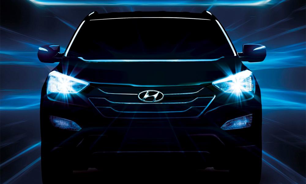 Hyundai опубликовал новые фото Santa Fe третьего поколения