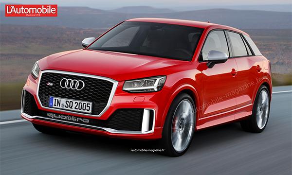 Самый маленький кроссовер Audi получит спортивную версию