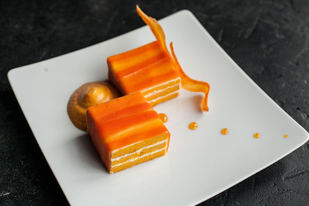 Десерт — Морковный торт