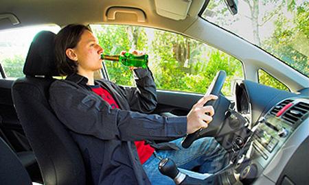 Автомобили сами будут определять пьяного водителя