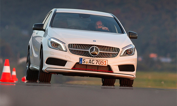 Mercedes выпустит недорогую малолитражку