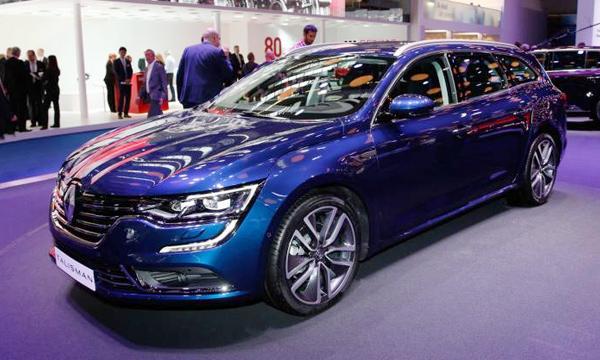 Renault представил новый универсал Talisman