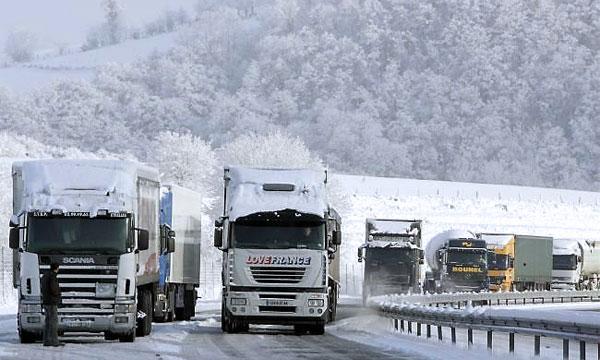 Грузовикам хотят запретить ездить зимой