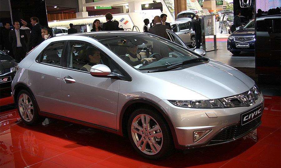 Honda Civic 2009 дебютировала в Париже