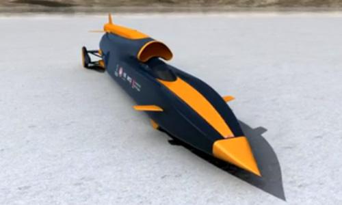 Bloodhound SSC 1000 mph rocket car