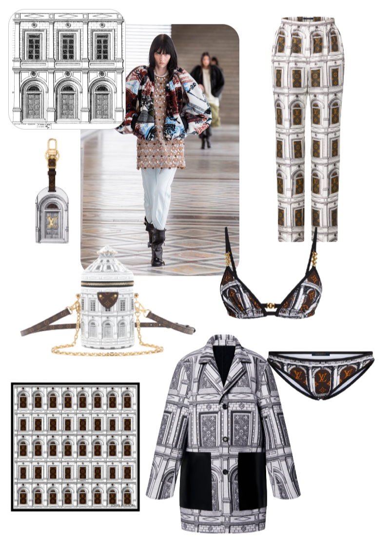 Коллаборация Louis Vuitton X Fornasetti