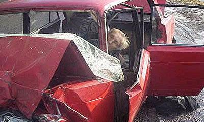 Водитель ВАЗ-2106 не справился с управлением