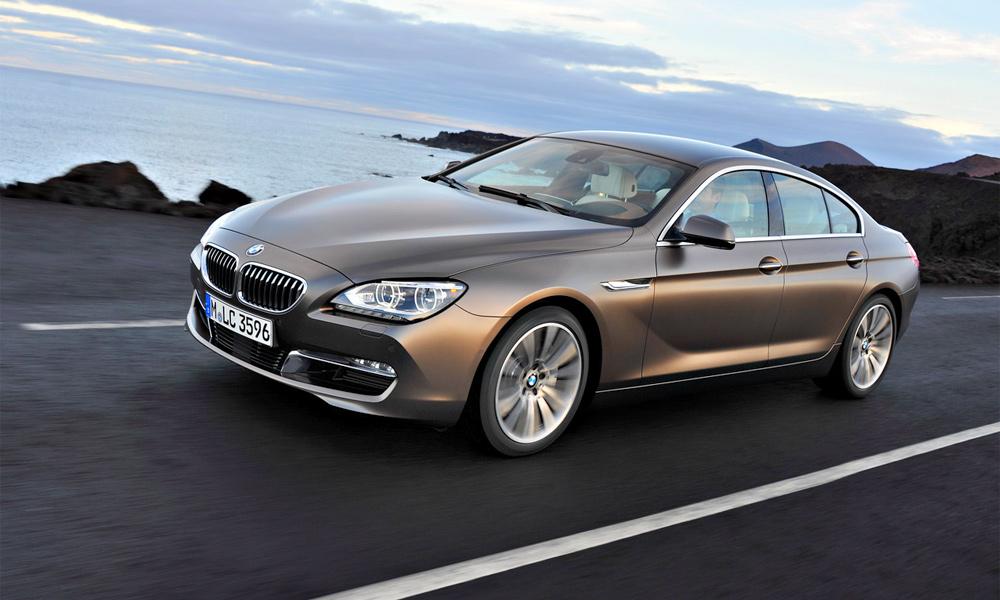 Объявлены российские цены на BMW 6-серии Gran Coupe