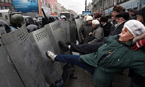 Завтра центр Москвы будет перекрыт из-за митингов и шествий