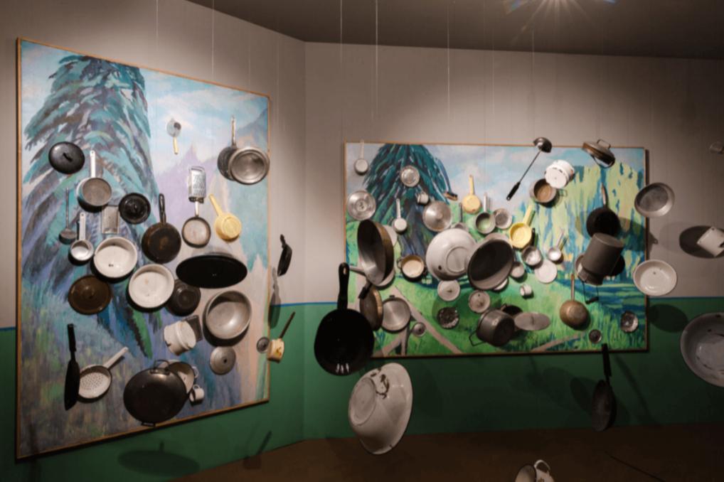 Инсталляция Ильи и Эмилии Кабаковых, выставка «В будущее возьмут не всех», Третьяковская галерея, Москва, 2018