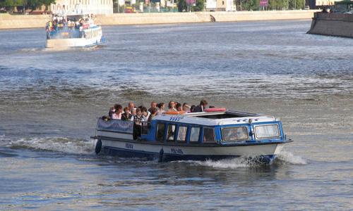 Сезон навигации речных такси в Москве завершится 12 октября