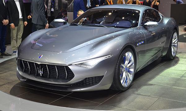 Maserati представила в Женеве концепт Alfieri