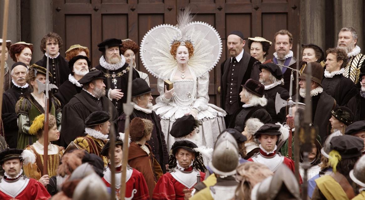Кадр из мини-сериала «Елизавета I»