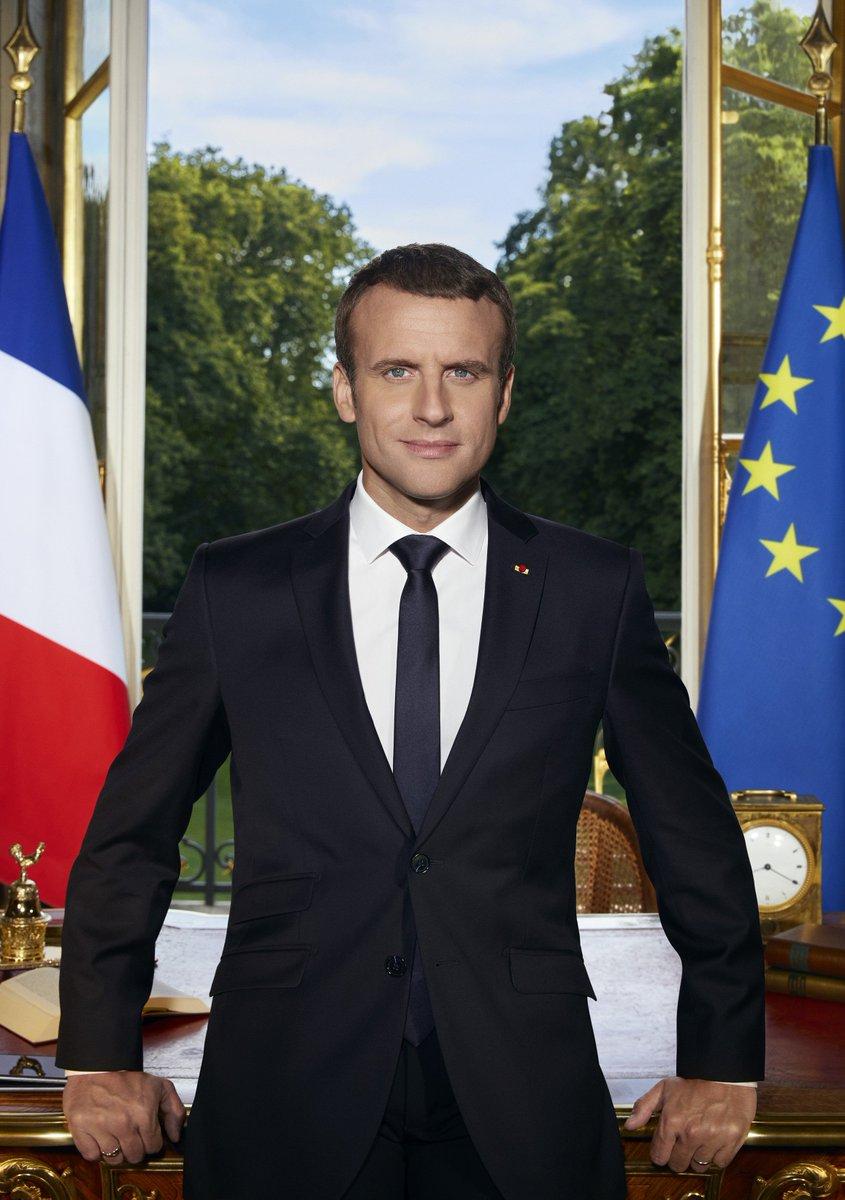 Фото: twitter.com/EmmanuelMacron