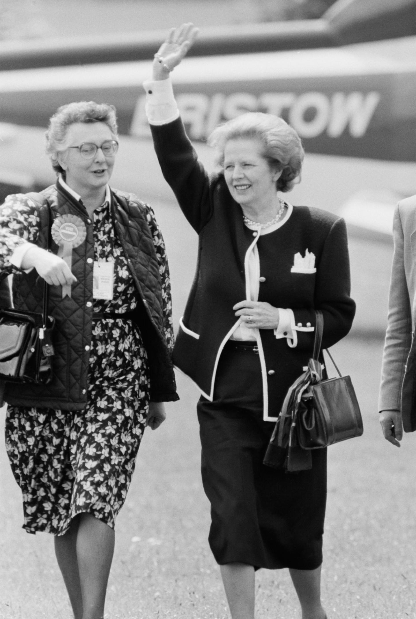 Маргарет Тэтчер, 1987 год