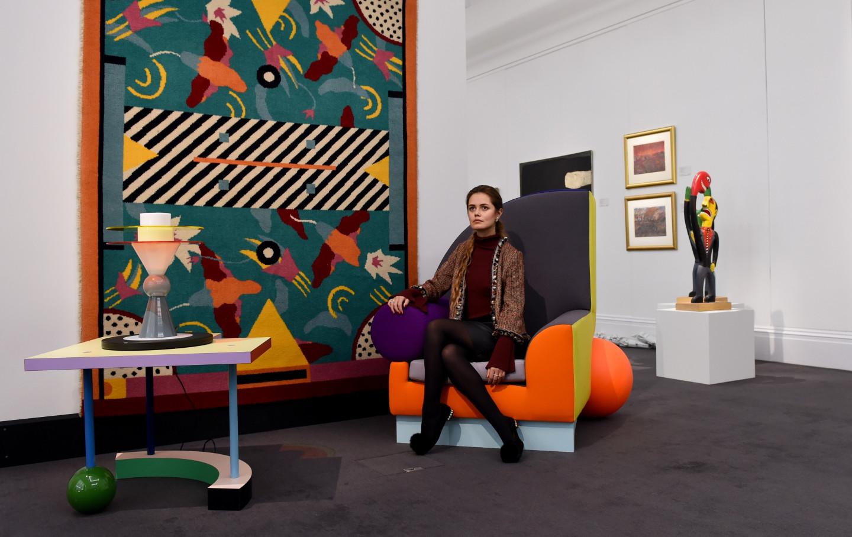 Предметы интерьера из коллекции Дэвида Боуи, Лондон
