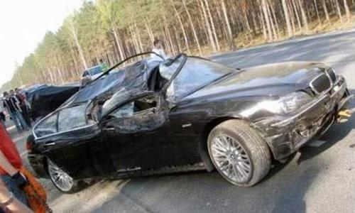 Черные машины попадают в ДТП чаще