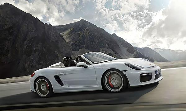 Porsche добавит мощности Boxster Spyder