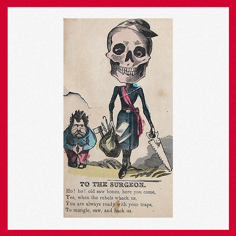 «Уксусная валентинка» хирургу времен Первой мировой войны