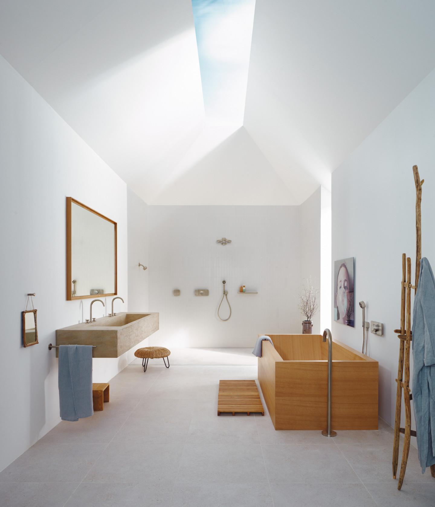 Ванная комната «Копенгаген», проект AXOR Compact Luxury, дизайн Barber Osgerby