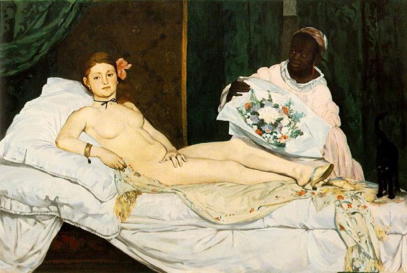 Эдуард Мане. «Олимпия», 1863 г.