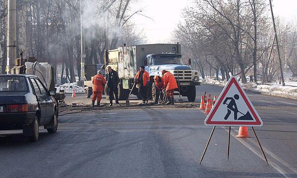 Земляные работы зимой на проезжей части улиц запретили