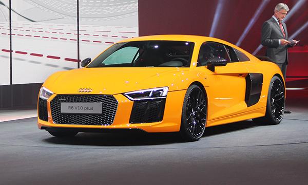 Audi раскрыл технические характеристики нового R8