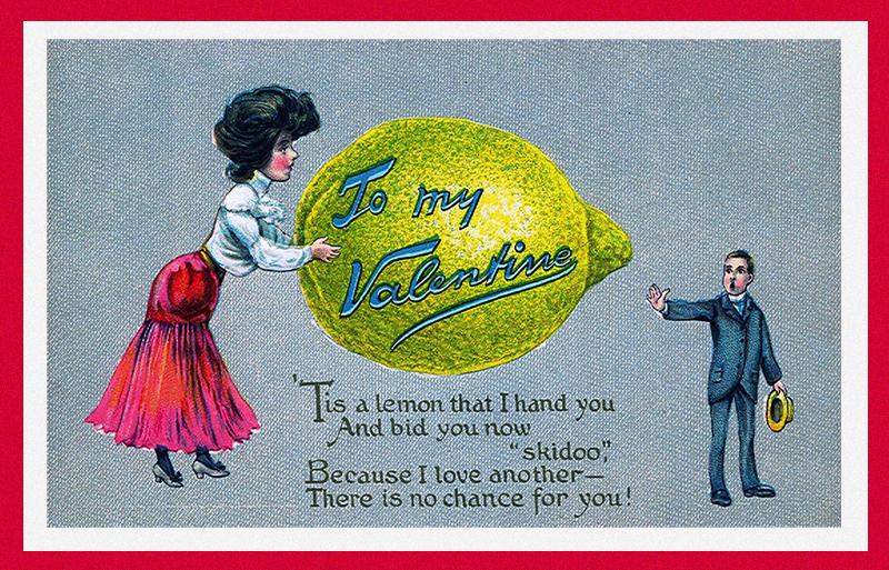«Уксусная валентинка» о невзаимной любви