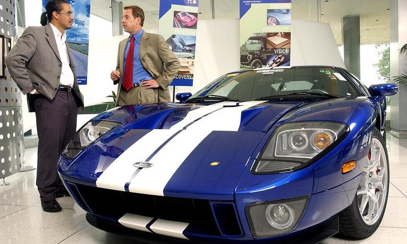 Ford GT на аукционе