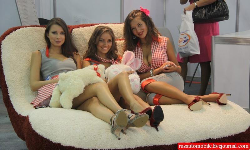 Девушки «Интеравто-2011»