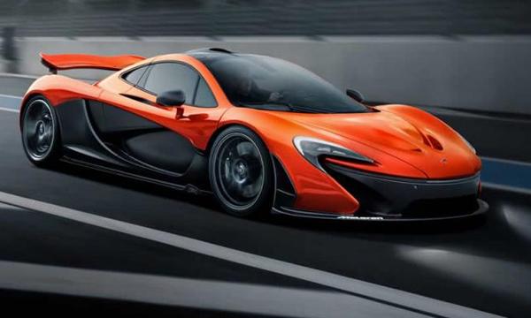 McLaren представил спецверсию спорткара P1