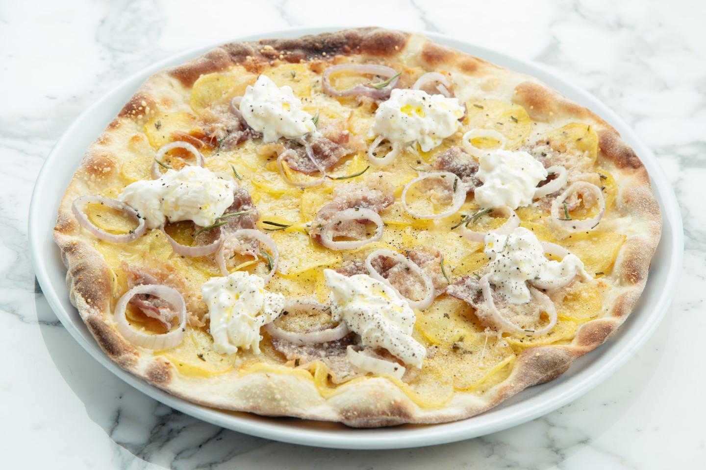 Пицца с хрустящим картофелем