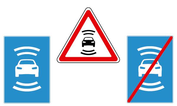 В России разработали дорожные знаки для беспилотников