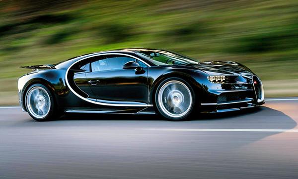 Bugatti Chiron хотят превратить в гибрид
