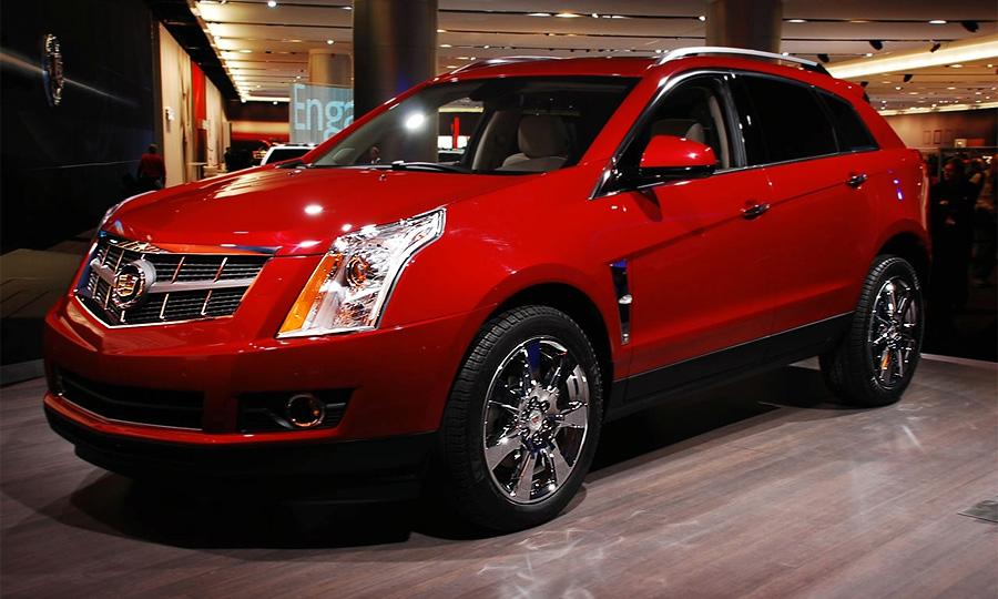 Новый Cadillac SRX