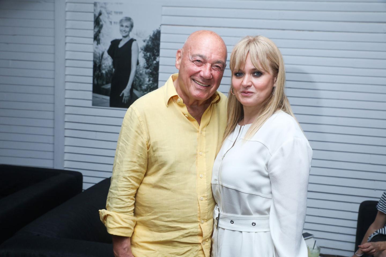 Владимир Познер и Анна Михалкова
