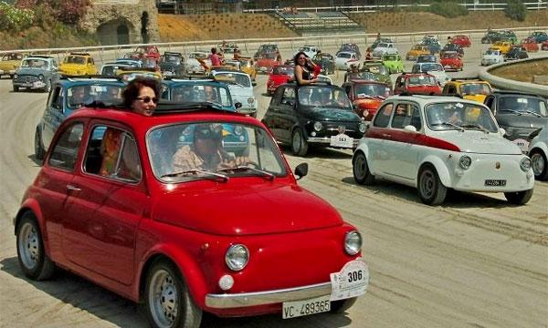 Fiat 500 установил рекорд Книги Гиннесса