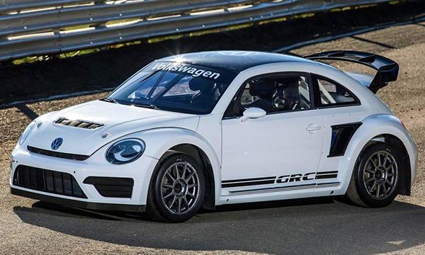 Volkswagen обновил гоночный Beetle GRC