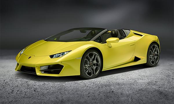 Родстер Lamborghini Huracan получил задний привод
