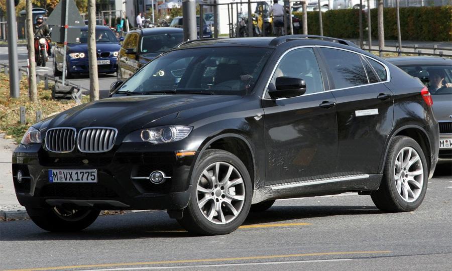 Гибридная версия внедорожника BMW X6