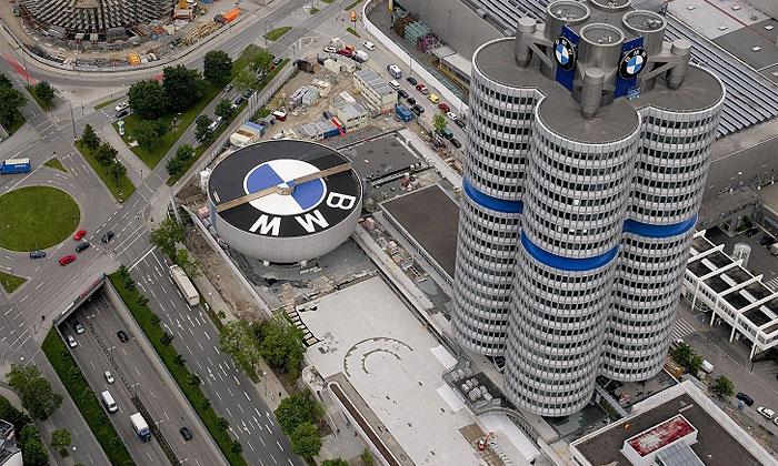 Прибыль компании BMW выросла до 834 млн евро