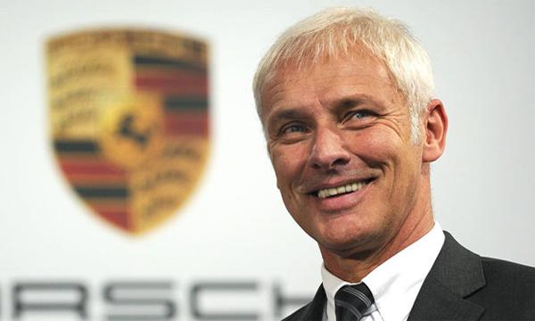 Главный исполнительный директор Porsche Маттиас Мюллер
