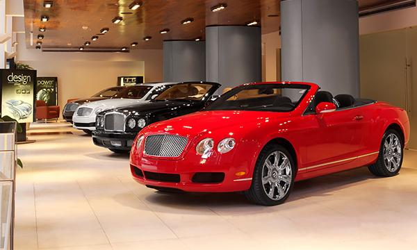 В России продажи люксовых автомобилей выросли на 95%