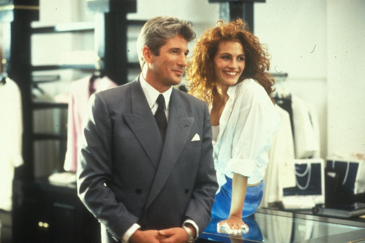 Кадр из фильма«Красотка»