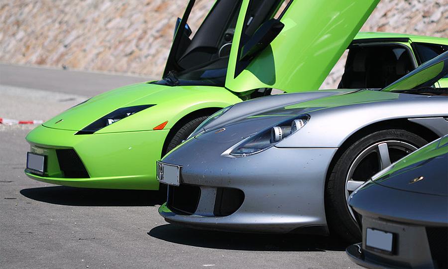 Новейшие спорткары едут покорять Женеву